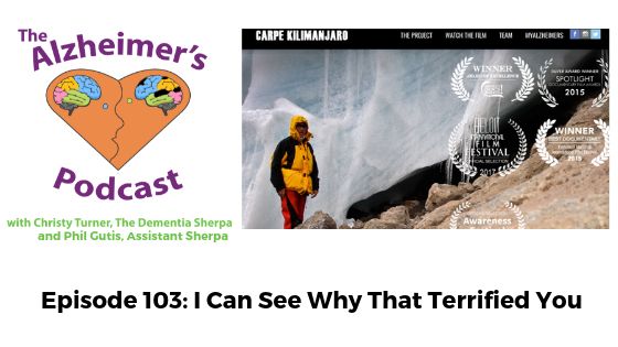 #103: I Can See Why That Terrified You