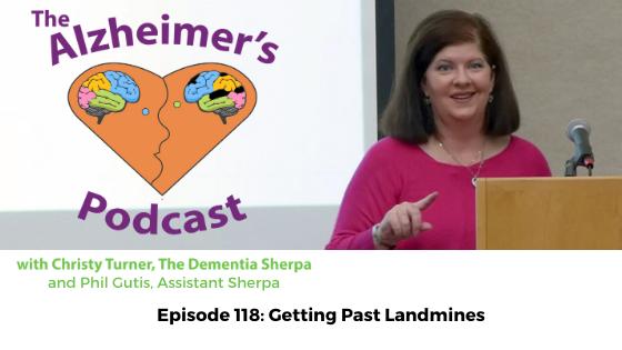 #118: Getting Past Landmines